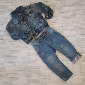 Baby boy matching set 18 months